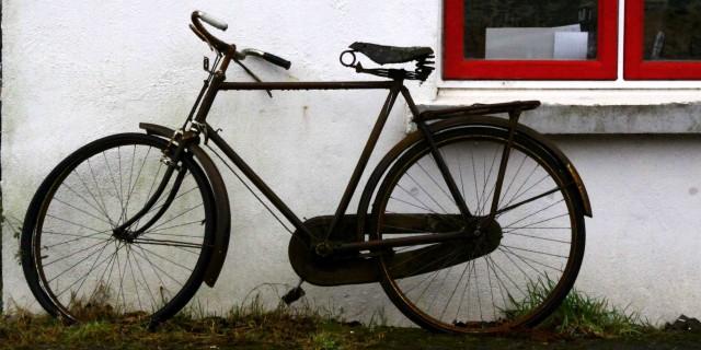Flitsende fiere fiets