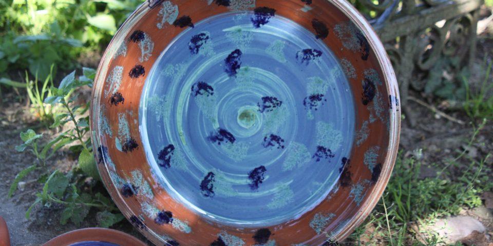 Blauwe blikvangers